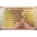 Memorial Boards - Memorial Board - Life Tree - 92 Leaves Size 210 cm X 122 cm