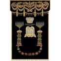 Menorots Parochet - Parochoth - Holy Ark Covers Special Designs