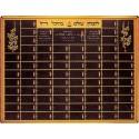 Memorial Boards - Memorial Board - 96 Plaques Size 102 cm X 132 cm