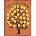 Life Tree - 30 Perspex Leaves Size 122 cm X 99 cm