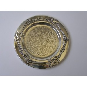 Sterling Silver Kidush Cup Plate