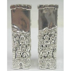 Silver Davids Tower Candleholders
