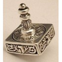 Sterling Silver Medium Square Dreydle